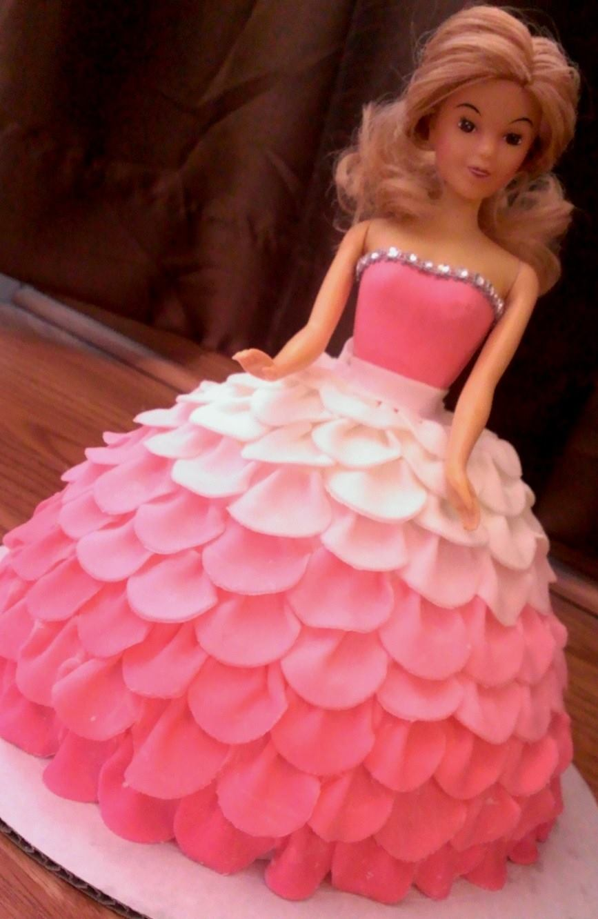 Barbie Cake – Happy Cake Baker