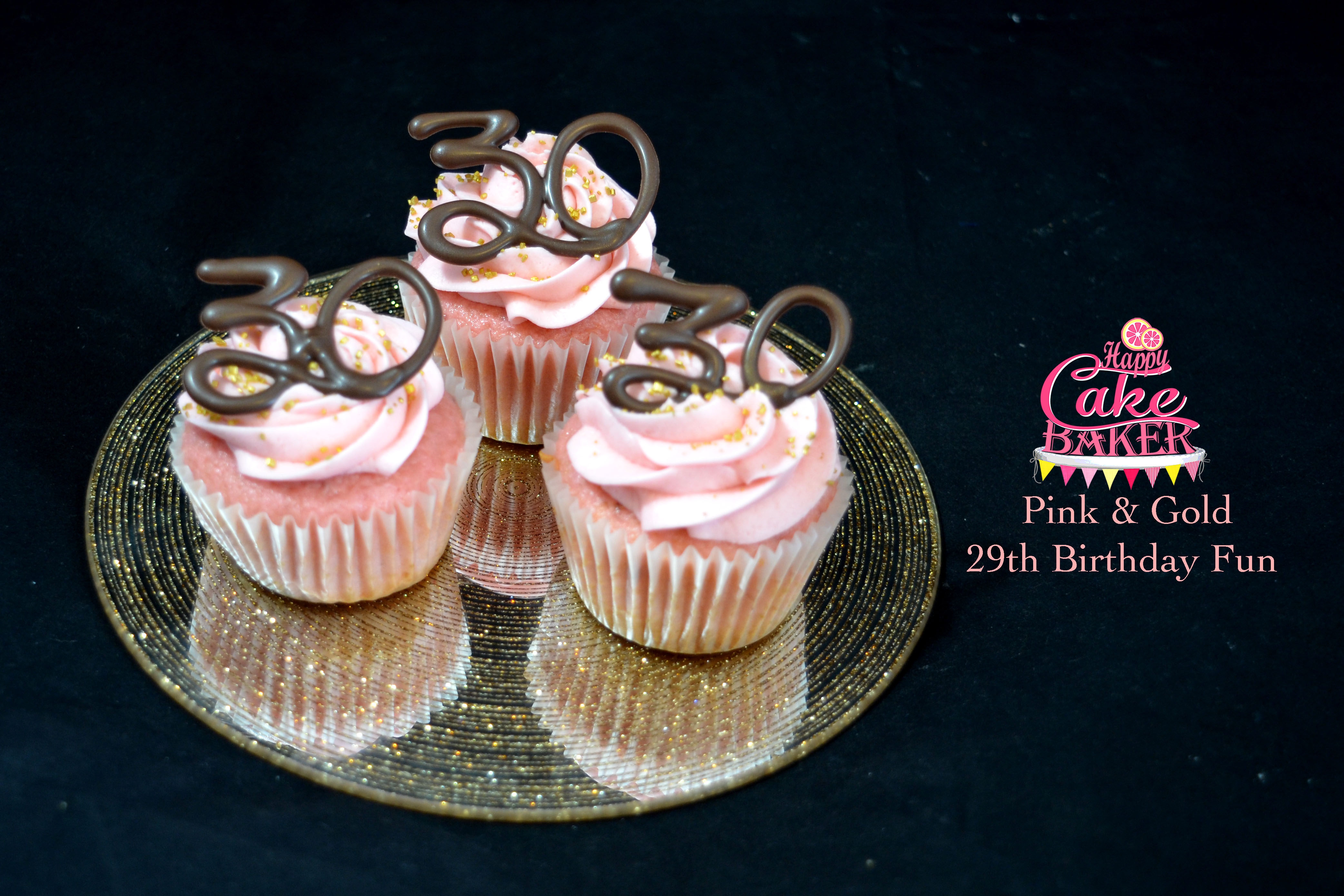 29th Birthday Fun Happy Cake Baker