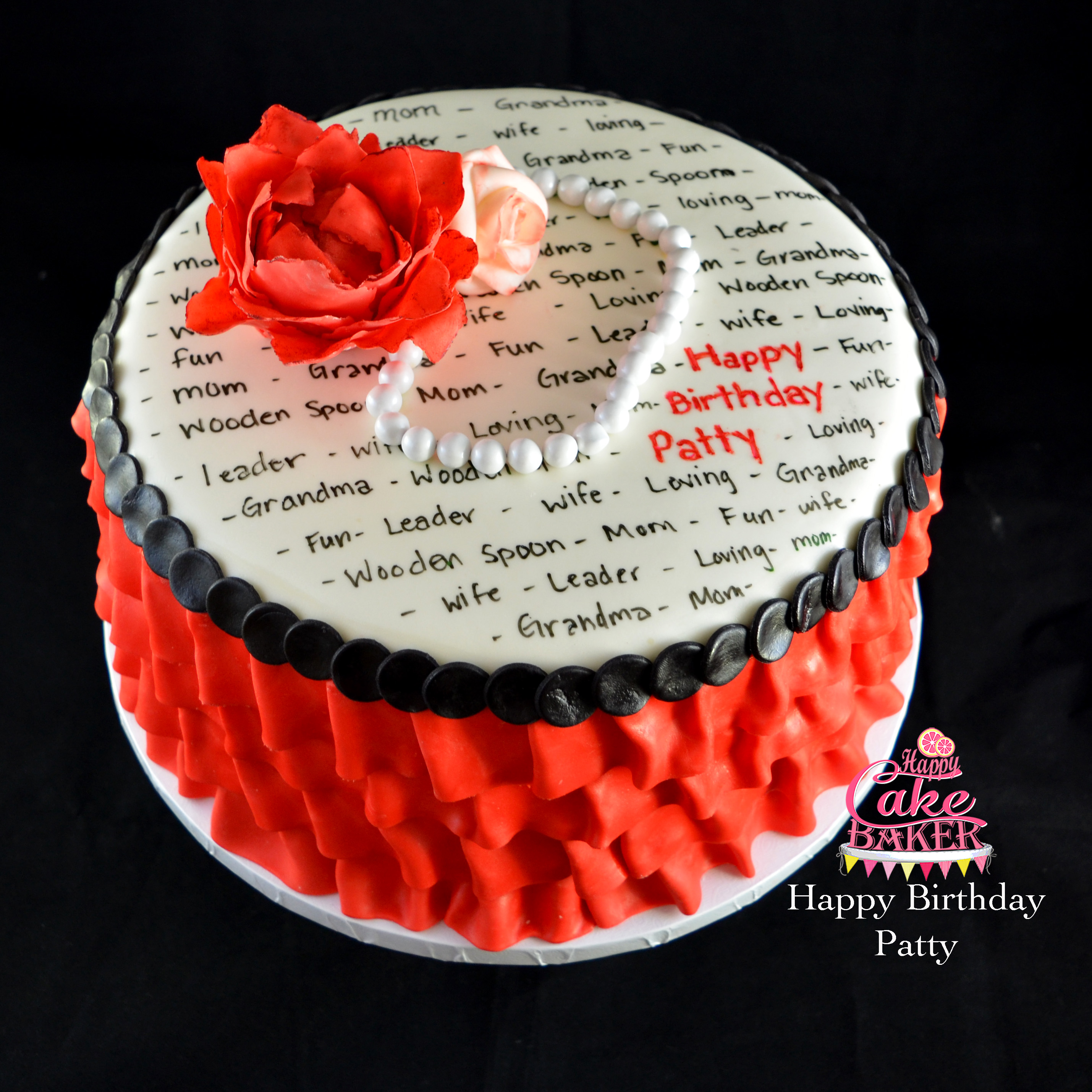 Happy cake baker creating memories one cake at a time flowers and pearls izmirmasajfo
