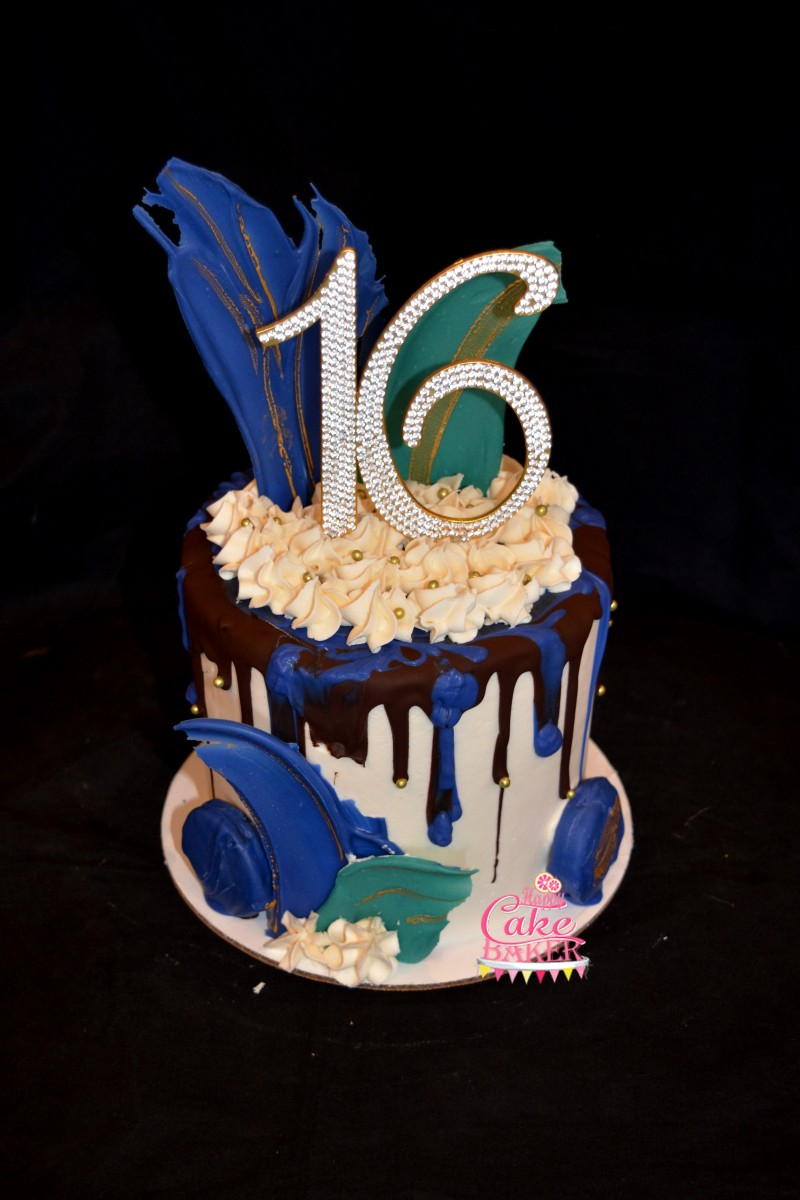 Artist S Sweet Sixteen Happy Cake Baker
