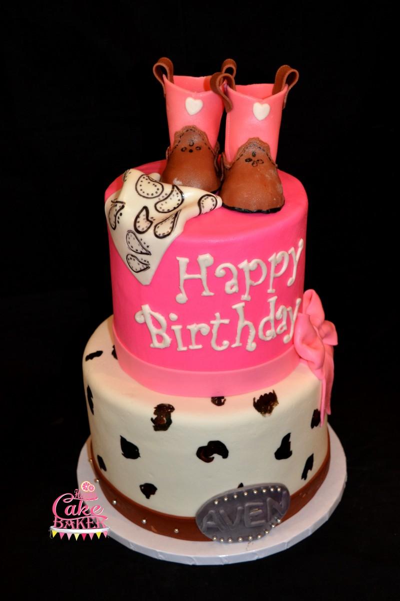 Avens Rodeo Happy Cake Baker