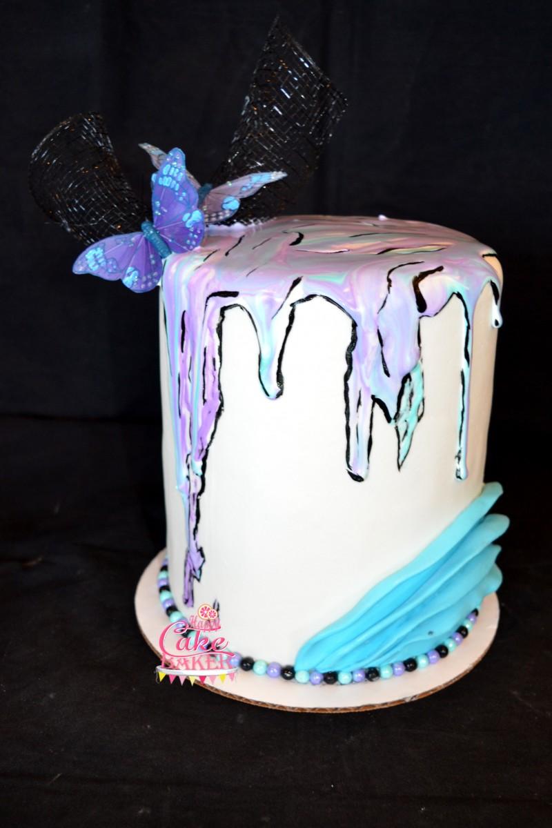 Birthday Girl Happy Cake Baker