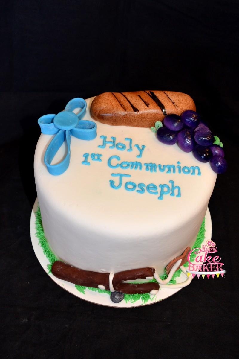 David And Goliath 1st Communion Happy Cake Baker