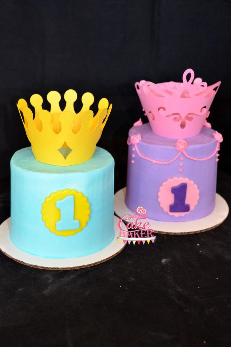Prince Princess Smash Happy Cake Baker