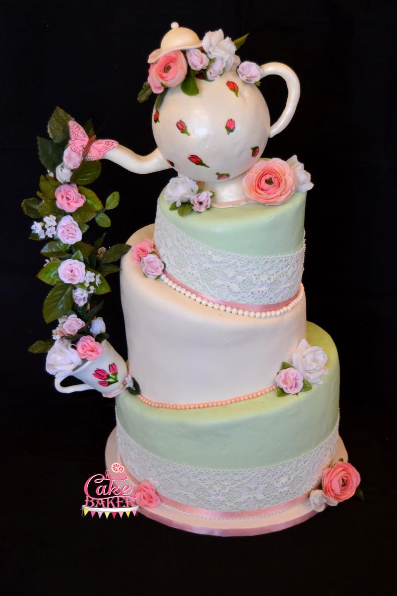 3 Tier Cake Happy Cake Baker