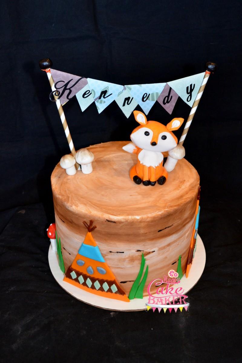 Woodland 2 Happy Cake Baker